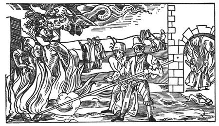 Foltern hexe nackt Hexen. Mittelalterliche